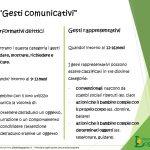 Ruolo dei gesti nello sviluppo del linguaggio